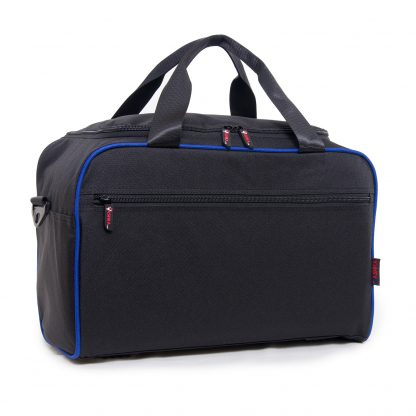 Blue travel bag