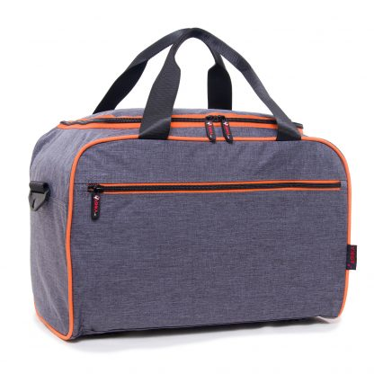 Grey travel bag