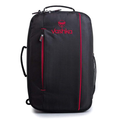 Vashka black backpack travel bag