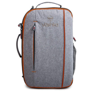 Vashka grey backpack travel bag